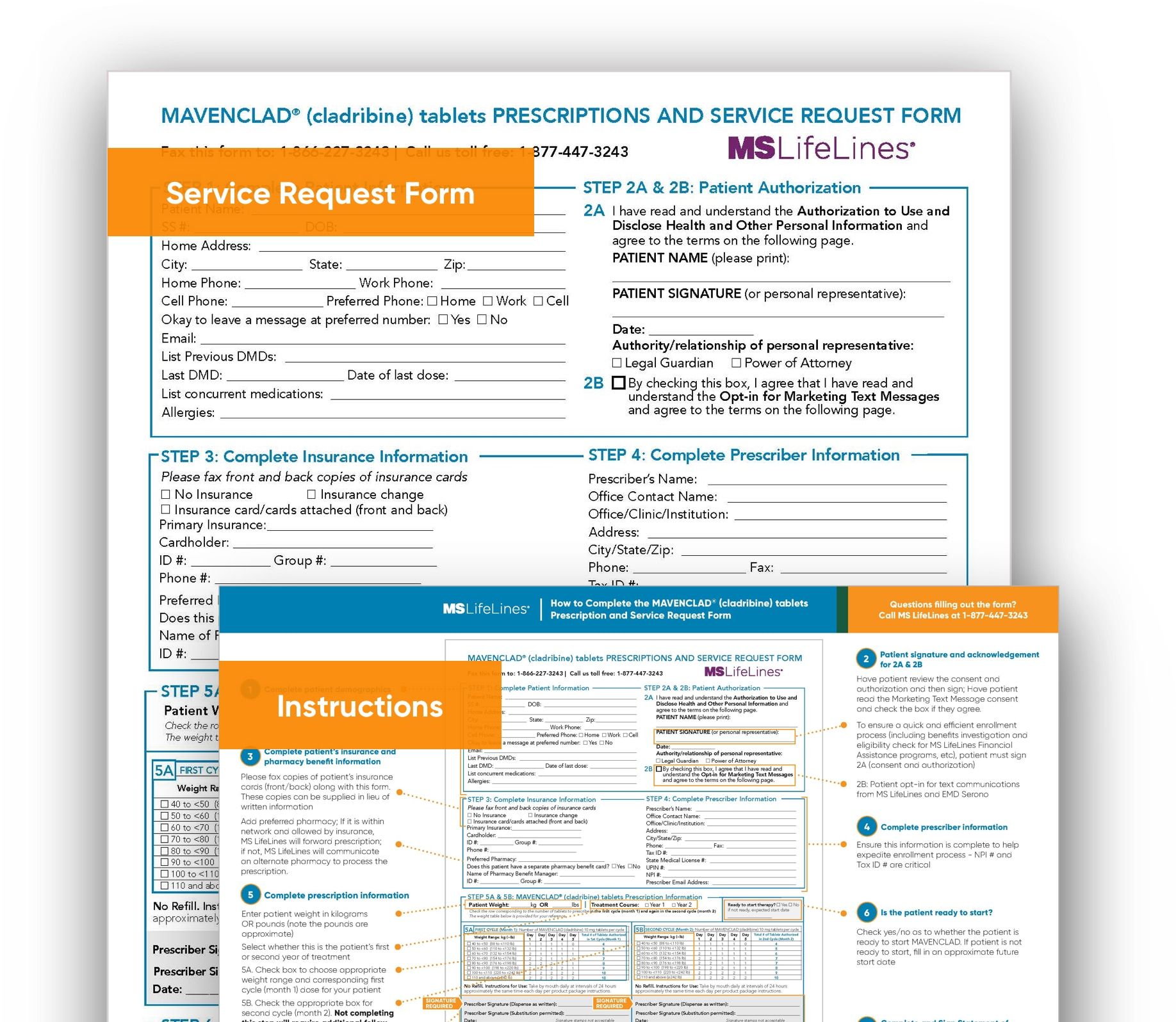 MAVENCLAD® service request form